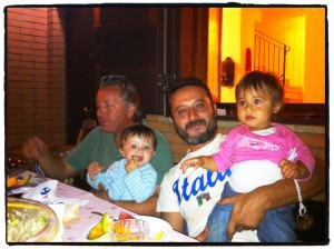 Claudio, Federico, Luca, and Emma