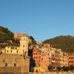 our arrival at Cinque Terre
