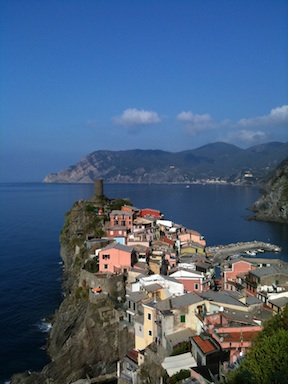 the magic of Vernazza