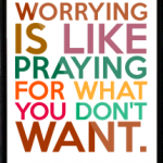 stop the worry