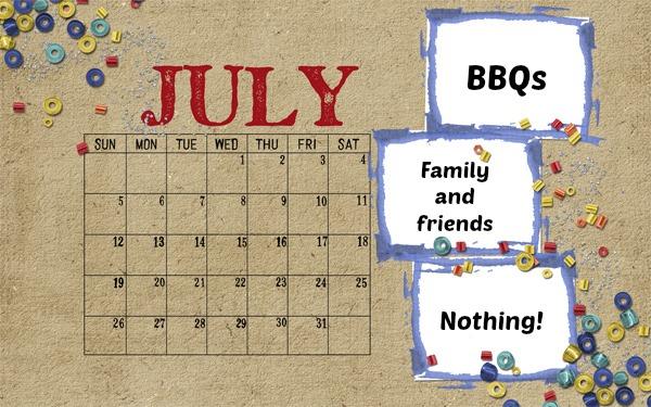 fun schedule