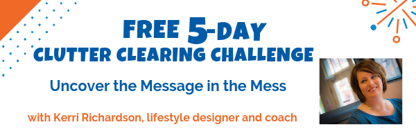 Free 5-Day Clutter Clearing Challenge